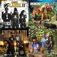 MIGOS (4)CD Lot- 'No Label 2, Streets on Lock 3, We Don't Speak Broke, Lingo 2'