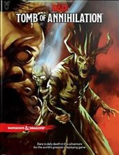 Tomb of Annihilation Book Dungeons & Dragons 5th Edition