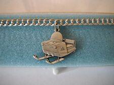 Vintage NOS Arctic Cat Snowmobile Charm Bracelet (1966 100D)