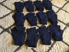 WB6 LOT OF 12 New MOSSIMO Knit Touch-Screen Compatible Gloves One Size Navy Blue