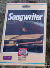 Songwriter Disk for Atari 800/XL/XE New Mint