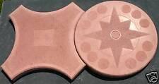 Großformatige Plattenformen - Stern + Kreis - Schalungsformen Giessformen 