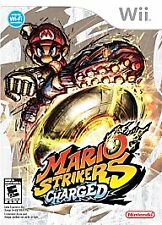 MARIO STRIKERS CHARGED (Nintendo Wii, 2007) COMPLETE!