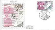 MONACO - ENVELOPPE 1er JOUR - FDC - N° 1718 - CENTENAIRE U.I.T.