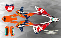 KTM FMF TEAM DECAL GRAPHICS STICKER KIT SX/SXF 2019-2020