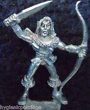 1990 Mar Elf Mm82 se 9 Marauder elfos ejército acuático Warhammer Citadel AD&D Metal