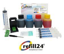Kit de Recarga para Cartuchos de Tinta Canon 510, 511 Negro y Color + 200 ML