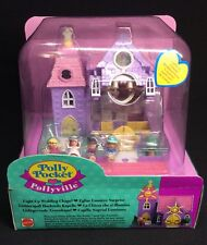 Polly Pocket mini 💛 1993 - Polly Pocket Wedding Chapel - Pollyville