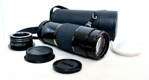 Canon EOS DIGITAL fit 75 210mm 420mm ZOOM lens for 400D 600D 1200D 7D 2000D +