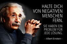 Albert Einstein Spruch 51 Blechschild Schild gewölbt Metal Tin Sign 20 x 30 cm