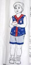 Toddler Baseball 100% Cotton Fabric Sewing Material Panel Shirt Shorts S M L