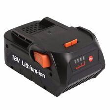 18V 5000mAh battery for RIDGID R840083 CS0921 R84008 AC840084 L1830R AEG Series