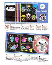 Beipackzettelvariante Clone Trooper TR201 Star Wars Twistheads Mega Selten