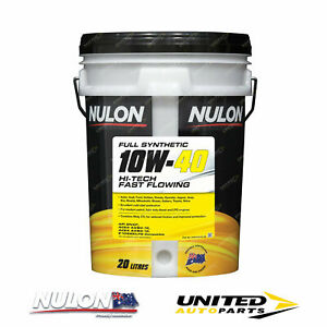 NULON Full Synthetic 10W-40 Fast Flowing Engine Oil 20L for FORD Probe 2.5L V6
