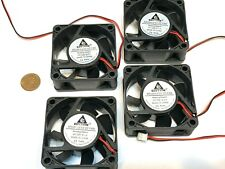 4 pieces Computer case 2Pin 6025 DC Fan 12V 6cm 60x60x25mm Motor Cooling C38