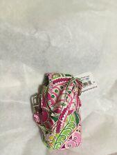Vera Bradley Cell Phone Case in Pinwheel Pink Retired Pattern