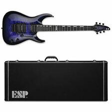ESP E-II Horizon QM/FR Reindeer Blue RDB Electric Guitar + HARD CASE B-Stock E2
