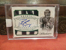 Panini Flawless Emerald On Card Autograph Jersey Broncos Peyton Manning 3/5 2014