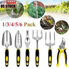 6PCS Garden Hand Tool Set Home Gardening Kit Trowel Digging Plant Weeding Tools