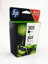 HP Original Tintenpatrone 302 Multipack, 4-farbig X4D37AE f. Deskjet 3630,36