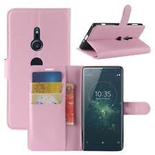 Cartera De Bolsillo PREMIUM ROSA para Sony Xperia XZ2 Cubierta la caja sobres