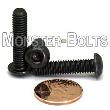 M6-1.0 x 25mm - Qty 10 - ISO 7380 BUTTON HEAD Socket Cap Screws Class 12.9