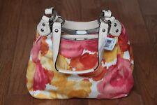 NWT $358 Coach F21897 Ashley Multicolor Floral Print Hobo Purse Handbag