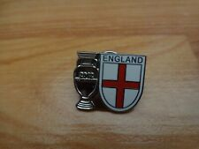 CLASSIC ENGLAND NATIONAL TEAM ST GEORGES FLAG EURO 2012 ENAMEL PIN BADGE