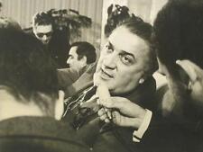 Federico Fellini. Fotografia originale. Vintage