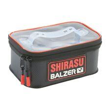 Balzer shirasu tackle contenedores 22 14 x 9,5cm estancos Eva tackle bolso Bag