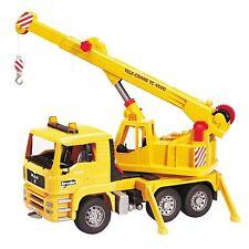 BRUDER 2754 Camion MAN con gru - Scala 1:16