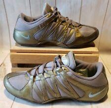 Nike Non-Marking Training/Cheer Shoes 324751-041 Women Size 9.5 Gray/Green