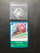 Digimon Card Game P-021 A New World! P Memorial Pack Promo ENGLISH NM
