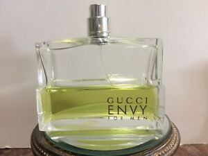 Gucci Envy For Men EDT Spray 3.4FL OZ / 100 ml USED ABOUT 50% Full DISCONTINUED