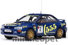 SUN STAR 5501 SUBARU IMPREZA 555 #2 1993 RALLY LAKES 1/18 A.VATANEN/B.BERGLUND
