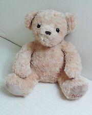 "Harrods of Knightsbridge 12"" Teddy Bear Soft Toy Plush Comforter. Excellent"