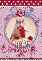 5 or 12 birthday invitation cards chica vampiro ref 323