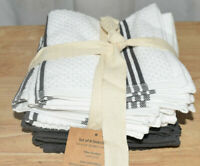 Sticky Toffee, 8 Pack, Cotton Terry Kitchen Dishcloth, Grey