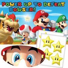Super Mario Party Game (similaire à la Broche Le Queue Sur Le Donkey)