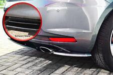 Heckansatz Diffusor Seitenteile für Seat Leon 3 5F Cupra R schwarz glänzend