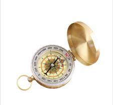 Tasche Messing Outdoor Camping Wandern Navigation Kompass Ring Schlüsselring