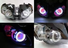 Angel Eye HID Projector Demon Eye Headlight Assembly 2008-2011 Honda CBR1000RR
