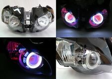 Angel Eye HID Projector Demon Eye Headlight Assembly 2008-2011 Honda CBR1000RR