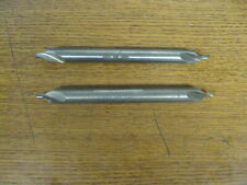 2 Used Keo Hss No 6 X 6 Combination Countersink Center Drill Bit