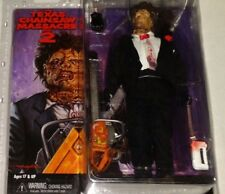 NECA MISP Texas Chainsaw Massacre 2 LEATHERFACE retro style cloth action figure