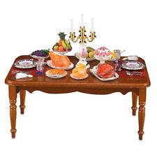 Reutter Porzellan Passez Décoré Salle À Manger Table Maison De Poupée 1:12