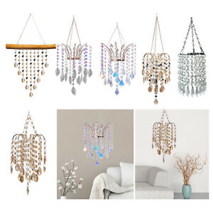 Chandelier Style Ceiling Pendant Light Shade Crystal Ball Droplet Beads