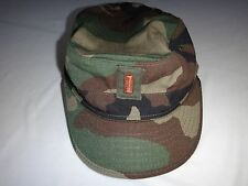 US Army 2nd LIEUTENANT Rank Camo Cap Hat With Original Label Fits US Head Size 7