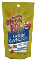 Meow Mix Ocean Explosion Cat Treats 2.1 Oz. (Pack of 8)