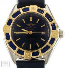 Breitling Uhr Lady J Edelstahl/Gold D52065